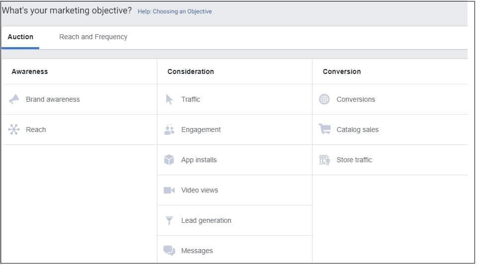 יצירת מודעות לקמפיינים בפייסבוק